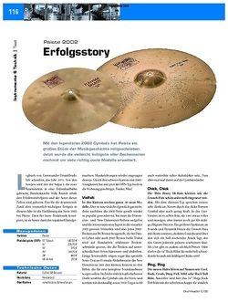DrumHeads Test: Paiste 2002