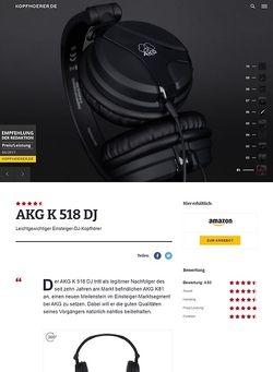 Kopfhoerer.de AKG K-518 DJ