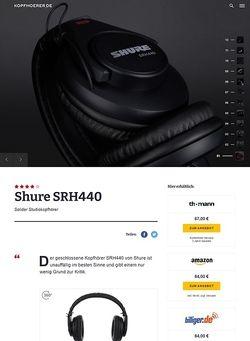 Kopfhoerer.de Shure SRH440