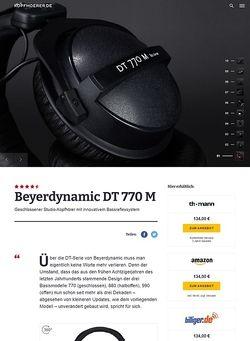 Kopfhoerer.de Beyerdynamic DT-770 M