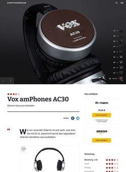 Kopfhoerer.de Vox amPhones AC 30