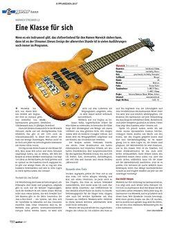 Guitar gear Bass - Warwick Streamer LX