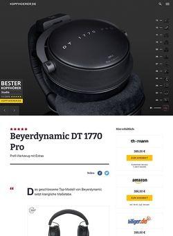 Kopfhoerer.de Beyerdynamic DT-1770 Pro 250 Ohm