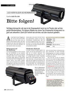 SOUNDCHECK Eurolite LED SL-350