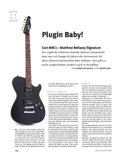 Gitarre & Bass Cort MBC1 Matthew Bellamy Signature