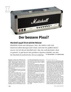 Gitarre & Bass Marshall 2555X Silver Jubilee Reissue