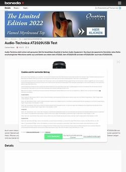 Bonedo.de Audio-Technica AT2020 USBi