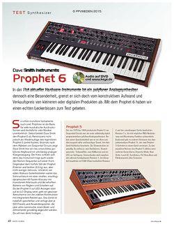 KEYS DSI Prophet 6