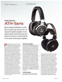 KEYS Audio Technica ATH-Serie