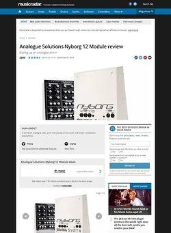 MusicRadar.com Analogue Solutions Nyborg 12 Module