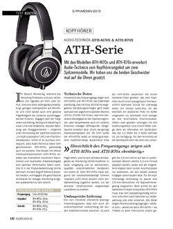 SOUNDCHECK Audio-Technica ATH-M70x & ATH-R70X