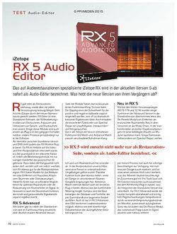 KEYS iZotope RX 5