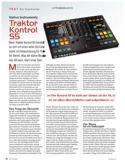 KEYS Native Instruments Traktor Kontrol S5