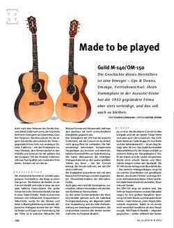 Gitarre & Bass Guild M-140/OM-150