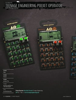 Sound & Recording Teenage Engineering Pocket Operator - Mini-Klangerzeuger