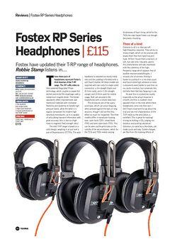 Future Music Fostex RP Series Headphones