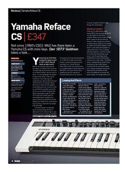 Future Music Yamaha Reface CS