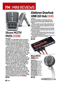 Future Music Shure MOTIV MV88