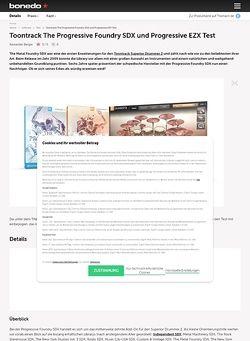 Bonedo.de Toontrack The Progressive Foundry SDX und Progressive EZX
