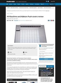 MusicRadar.com Decksaver Maschine and Ableton Push covers
