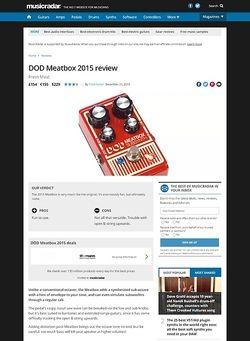 MusicRadar.com DOD Meatbox 2015