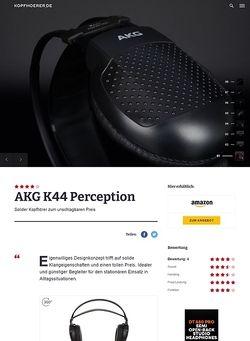 Kopfhoerer.de AKG K-44 Perception