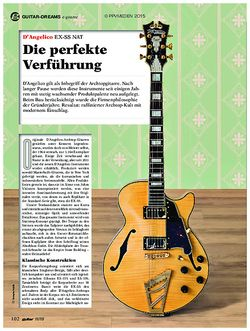 guitar D'Angelico EX-SS NAT