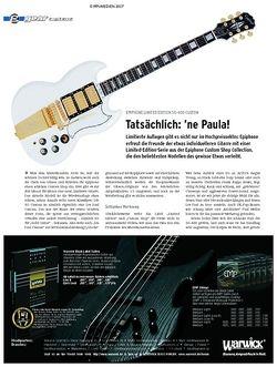Guitar gear E-Gitarre - Epiphone Limited Edition SG-400 Custom