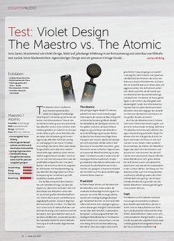 Beat Violet Design The Maestro vs. The Atomic