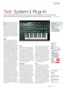 Beat Roland System-1 Plug-in