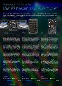 Beat Die 10 besten USB-DJ-Controller