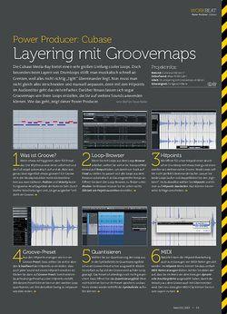 Beat Cubase - Layering mit Groovemaps