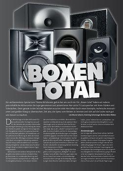 Beat Boxen Total: Aktivmonitore