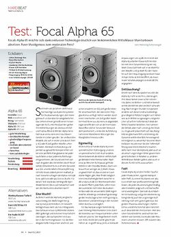 Beat Focal Alpha 65
