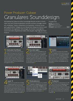 Beat Cubase - Granulares Sounddesign