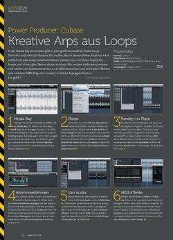 Beat Cubase - Kreative Arps aus Loops