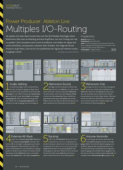 Beat Ableton Live - Multiples I/O-Routing
