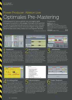 Beat Ableton Live - Optimales Pre-Mastering