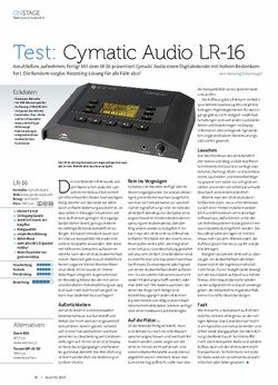 Beat Cymatic Audio LR-16