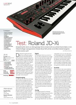 Beat Roland JD-Xi