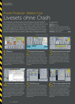 Beat Ableton Live - Livesets ohne Crash
