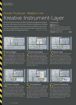 Beat Ableton Live - Kreative Instrument-Layer