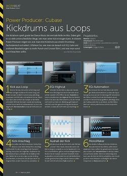 Beat Cubase - Kickdrums aus Loops