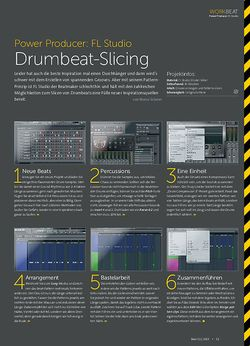 Beat FL Studio - Drumbeat-Slicing