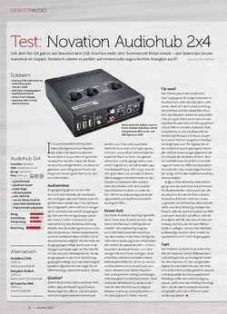 Beat Novation Audiohub 2x4