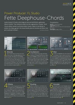 Beat FL Studio - Fette Deephouse-Chords