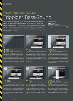 Beat Cubase - Trippiger Bass-Sound
