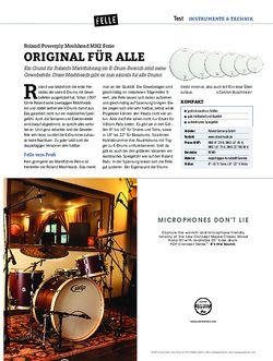 DrumHeads Roland Powerply Meshhead MH2 Serie