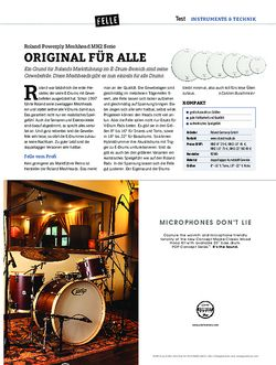 DrumHeads Roland Powerply Meshhead MH2 Serie