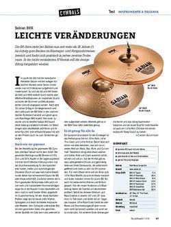DrumHeads Sabian B8X